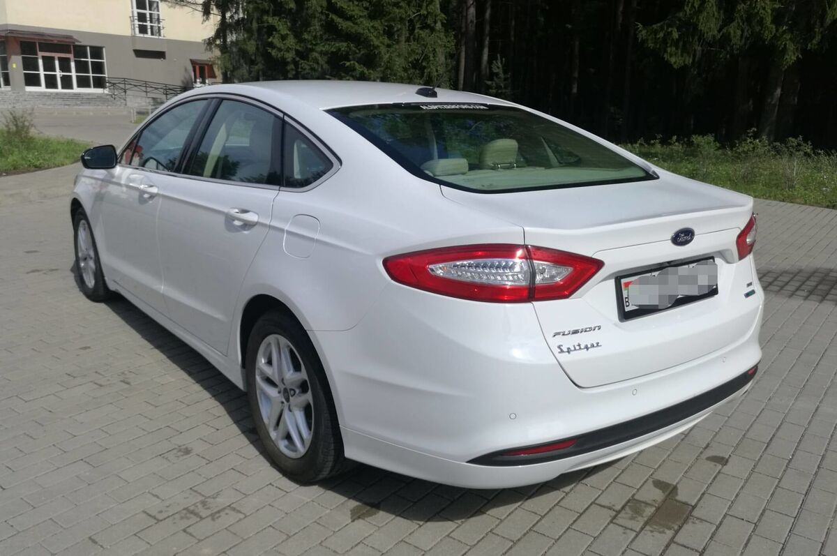 Прокат авто Ford Mondeo (Fusion) AT - фото 5