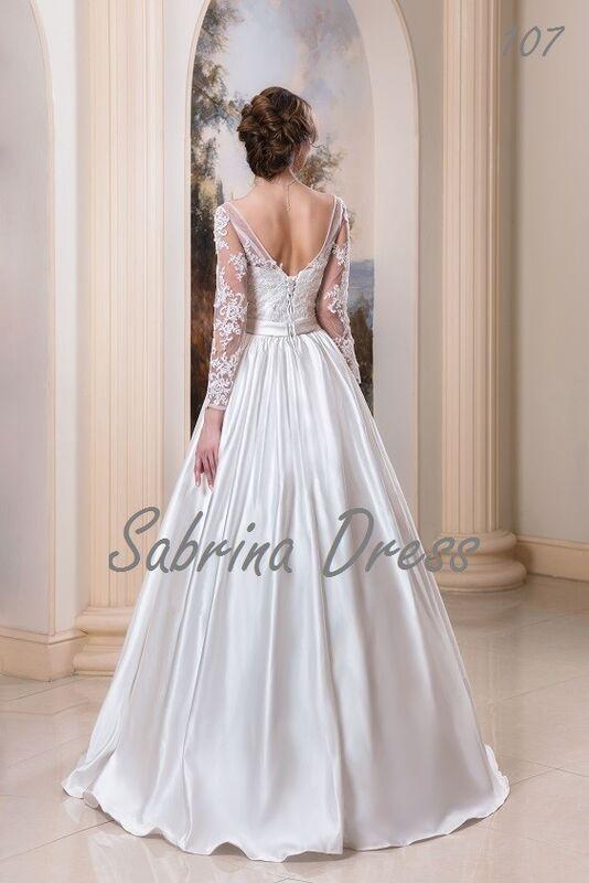 Свадебный салон Sabrina Dress Свадебное платье 107 - фото 2