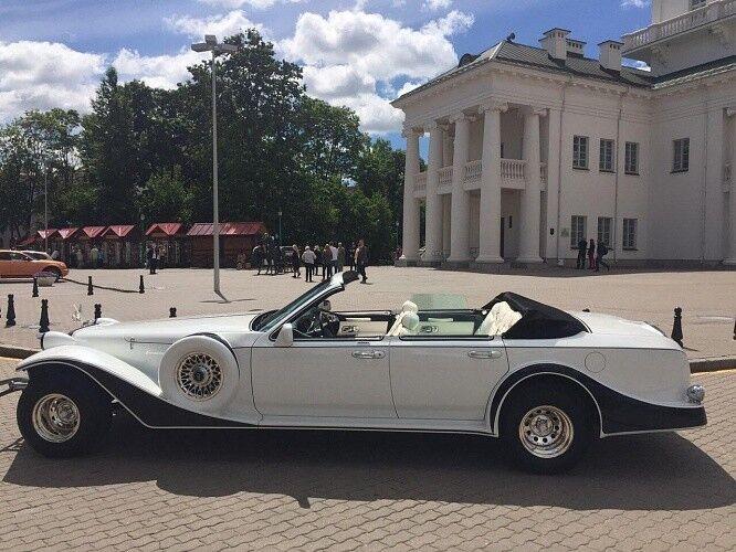 Прокат авто Excalibur Белый - фото 2