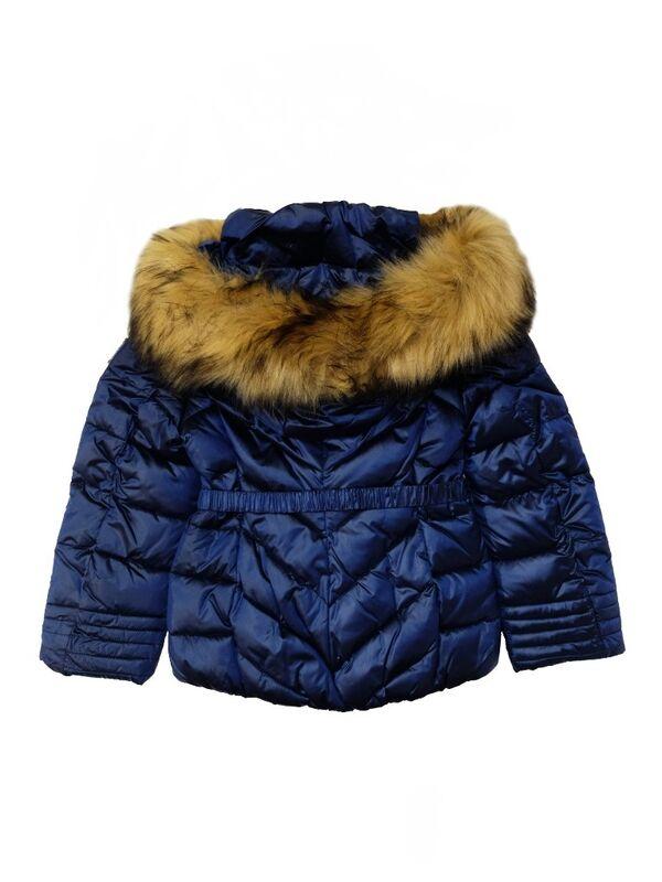 Верхняя одежда детская Monnalisa Куртка утепленная для девочки 196107FF 6026 0054 - фото 3