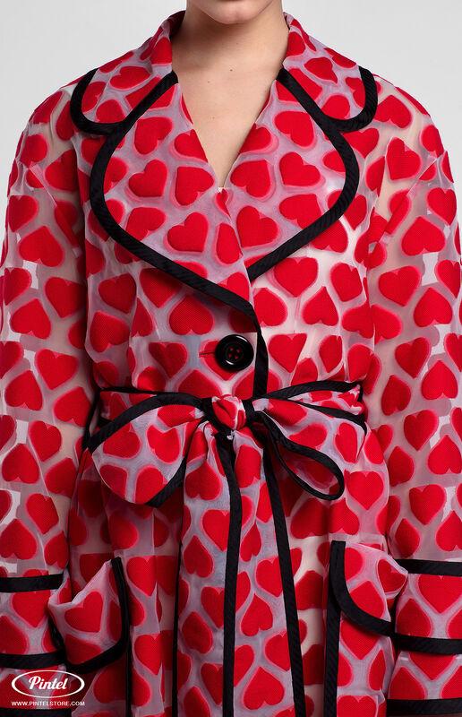 Верхняя одежда женская Pintel™ Плащ из органзы свободного силуэта Ranisha - фото 5