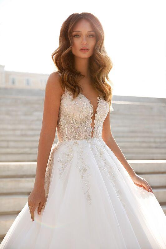 """Свадебное платье напрокат ALIZA свадебное платье """"Esmeraldyny"""" - фото 2"""