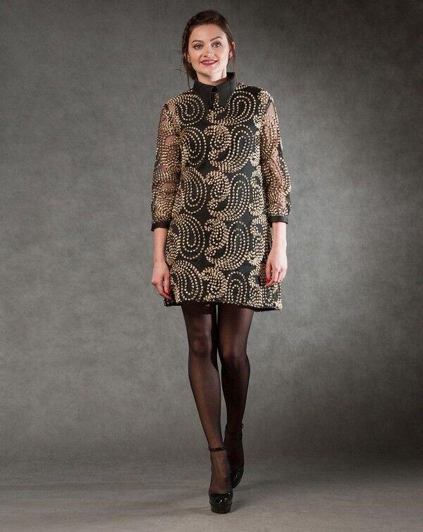Платье женское MISUTERI Платье Eri Black SS0145 - фото 1