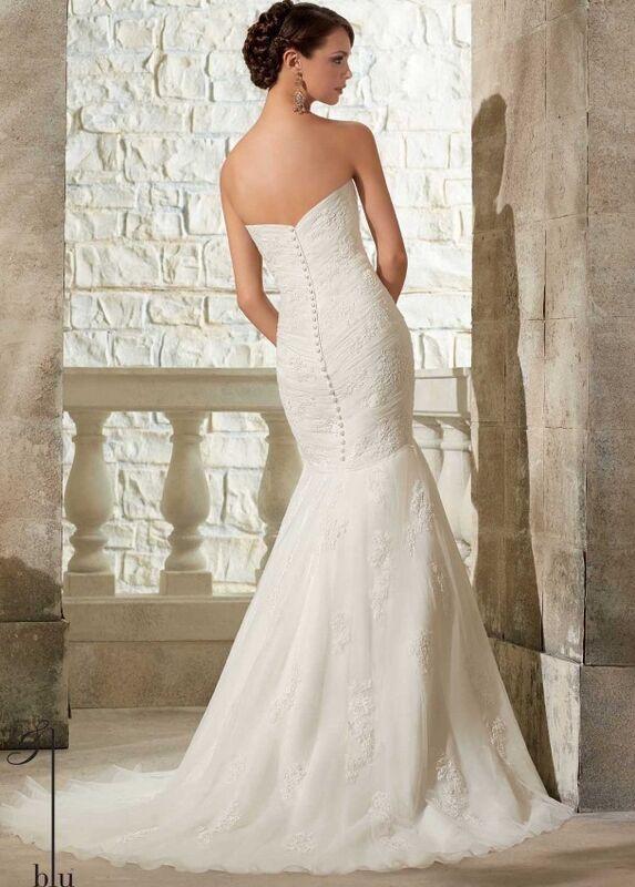Свадебное платье напрокат Mori Lee Платье свадебное 5309 - фото 2