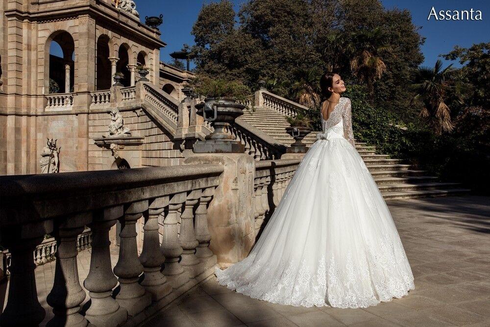 Свадебное платье напрокат Bonjour Платье свадебное «Assanta» из коллекции LA POESIE 2017 - фото 4