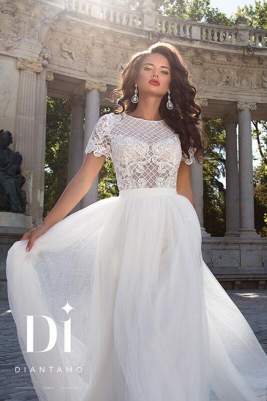Свадебное платье напрокат Diantamo Платье свадебное Alessandra - фото 2