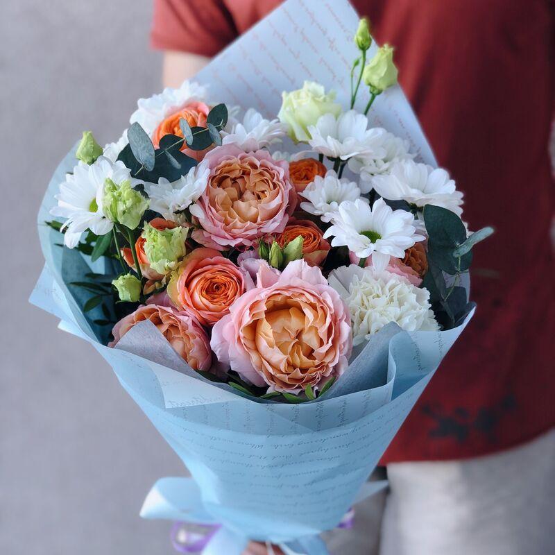 Магазин цветов Кошык кветак Букет классический №20 - фото 1