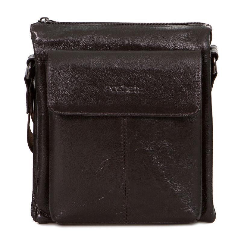 Магазин сумок Poshete Сумка мужская коричневая 186-7040А - фото 1