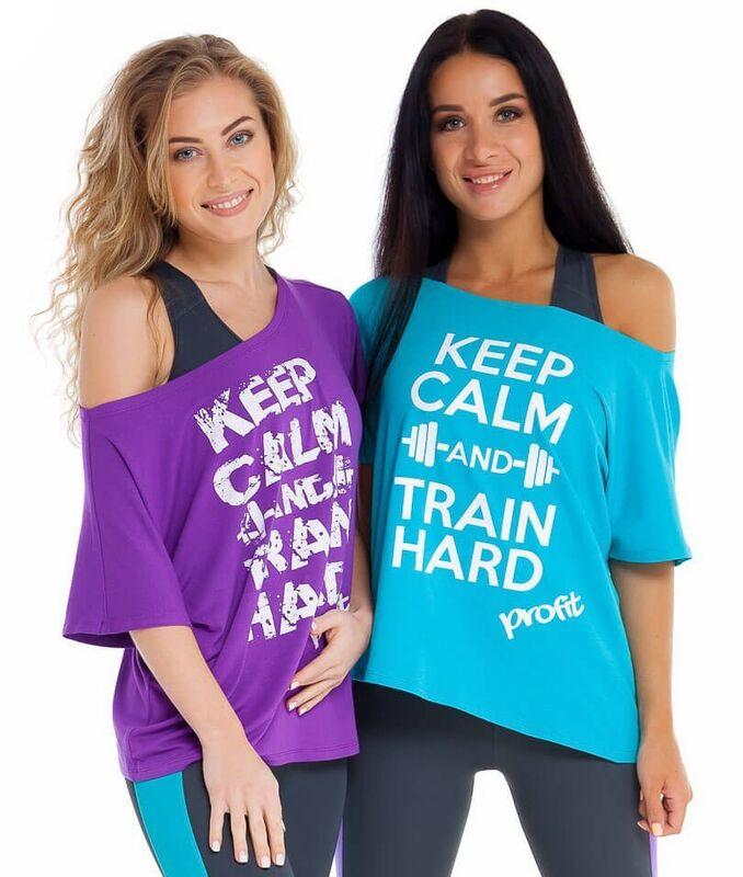 Спортивная одежда Profit Майка Keep Calm KH.010 - фото 1