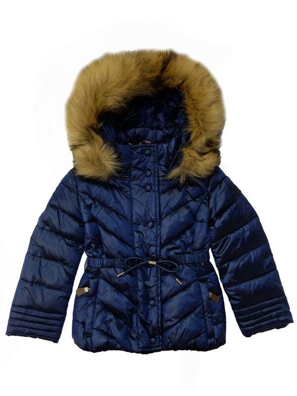 Верхняя одежда детская Monnalisa Куртка утепленная для девочки 196107FF 6026 0054 - фото 1