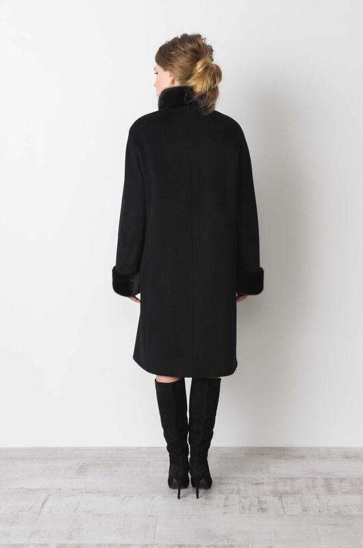 Верхняя одежда женская Elema Пальто женское зимнее Т-6593 - фото 3