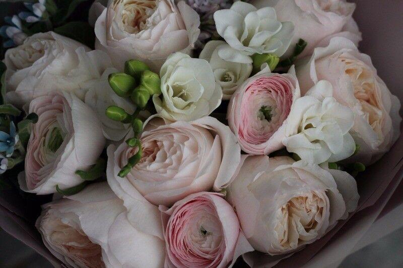 Магазин цветов Cvetok.by Букет «Прикосновение нежности» - фото 4