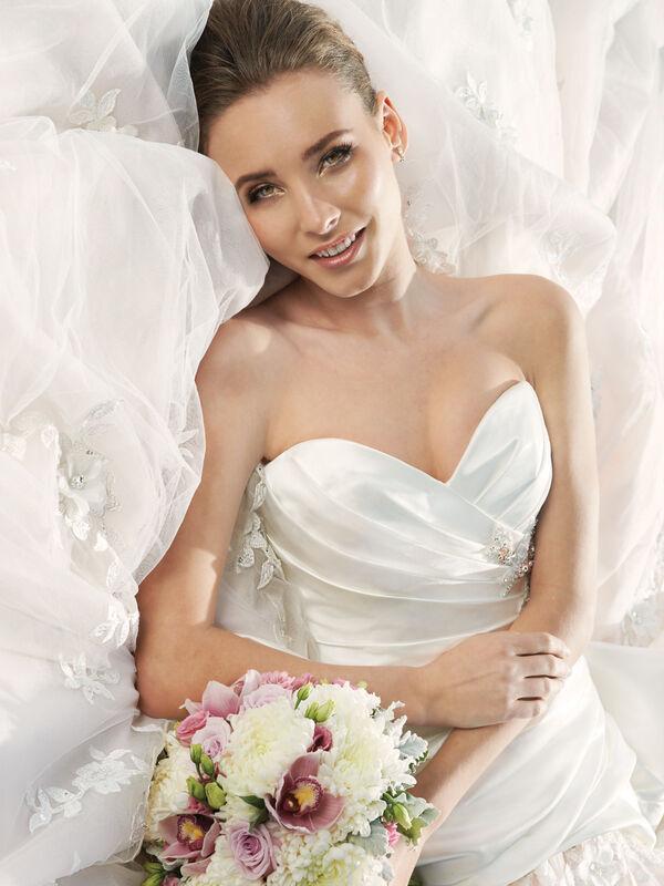 Свадебное платье напрокат Sophia Tolli Свадебное платье Y11300 Primrose 1 - фото 4
