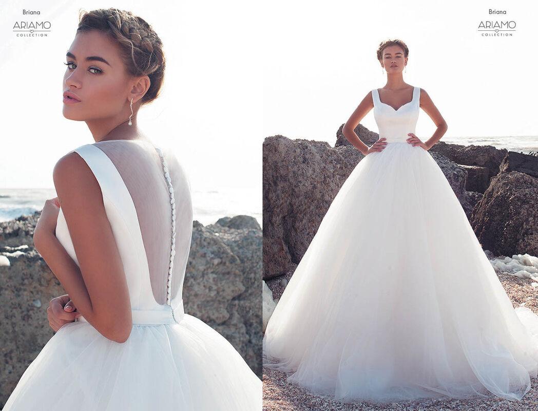 Свадебное платье напрокат Ariamo Bridal Платье свадебное Briana - фото 2