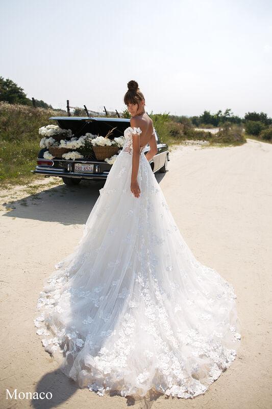 Свадебный салон Aivi Свадебное платье Monaco (New Collection) - фото 3