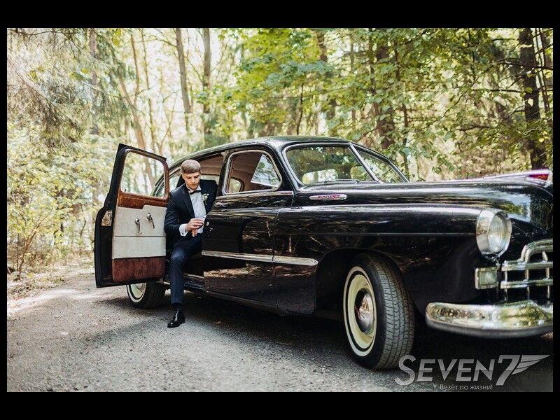 Аренда авто ЗИМ 1956 черный - фото 2