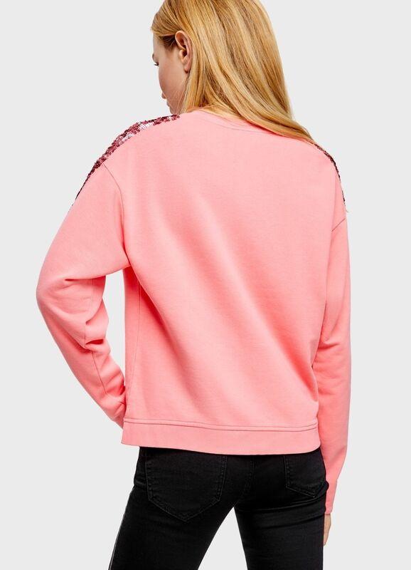 Кофта, блузка, футболка женская O'stin Толстовка с декором из пайеток LT2U14-R5 - фото 2