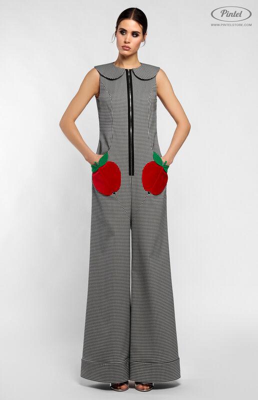 Брюки женские Pintel™ Комбинезон без рукавов из эластичного хлопка HELI - фото 1
