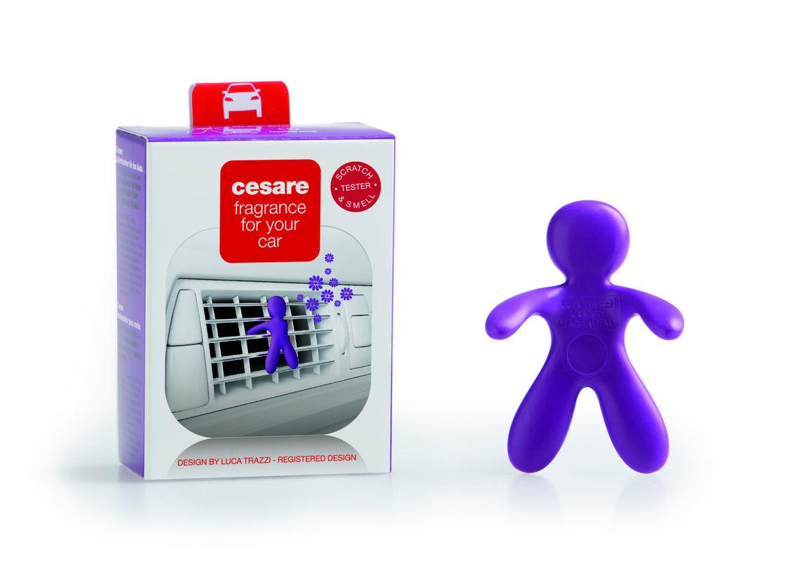 Подарок на Новый год Mr & Mrs Fragrance Ароматизатор воздуха для автомобиля Cesare - фото 6