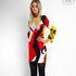 Платье женское Pintel™ Мини-платье прямого силуэта Shönien - фото 1
