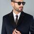 Верхняя одежда мужская Etelier Пальто мужское демисезонное 1М-9126-1 - фото 5
