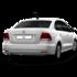 Прокат авто Volkswagen Polo серебристый 2018 - фото 3