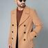 Верхняя одежда мужская Etelier Пальто мужское демисезонное 1М-9598-1 - фото 9
