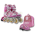 Роликовые коньки Maxcity Роликовые коньки раздвижные с комплектом защиты Little Rabbit Pink - фото 2
