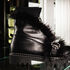 Обувь женская Jeannot Ботинки женские с отделкой из страусовых перьев 5001 - фото 1