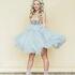 Вечернее платье Кураж Вечернее платье светло-голубое - фото 1