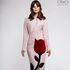 Платье женское Pintel™ Приталенное платье из натуральной шерсти Akeelia - фото 1