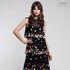 Платье женское Pintel™ Макси-платье А-силуэта без рукавов с воланами Ornela - фото 1