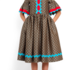 Платье женское Pintel™ Платье свободного силуэта из шерсти  Saäna - фото 1