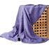 Подарок Ecotex Декоративный флисовый плед 150х200 Elegance Лавандовый - фото 1