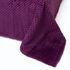 Подарок Ecotex Декоративный флисовый плед 150х200 Elegance Фиолетовый - фото 1