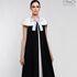 Платье женское Pintel™ Элегантное чёрное миди-платье А-силуэта Paloma - фото 1