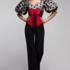 Брюки женские Pintel™ Комбинированный облегающий комбинезон Rabbani - фото 2