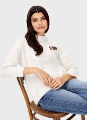 Кофта, блузка, футболка женская O'stin Джемпер с широким воротником LT4T83-T2