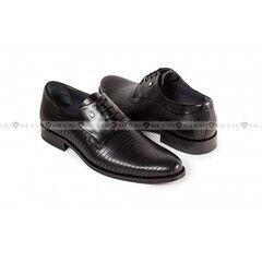 Обувь мужская Keyman Туфли мужские дерби черные с декоративной прострочкой