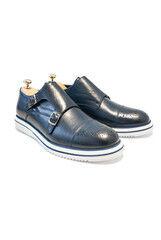 Обувь мужская HISTORIA Туфли мужские, монки синие