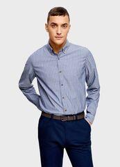 Кофта, рубашка, футболка мужская O'stin Рубашка из хлопка в полоску MS1U15-64