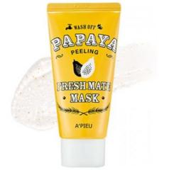 Уход за лицом A'Pieu Wash off Очищающая маска Папая O1854