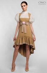 Платье женское Pintel™ Комбинированное приталенное платье VLASTYA
