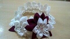 Свадебный аксессуар Bliss Свадебная подвязка Flowers