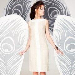 Белорусский дизайнер YANCHILINA Платье 1306