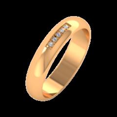 Ювелирный салон ZORKA Обручальное кольцо 154043