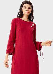 Платье женское O'stin Платье с брошью LR1T43-19