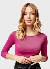 Кофта, блузка, футболка женская O'stin Футбoлка с люрексом LT4U11-X5