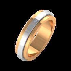 Ювелирный салон ZORKA Обручальное кольцо 1D5064/1B