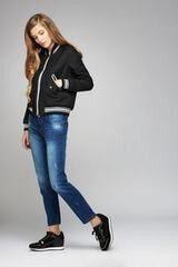 Верхняя одежда женская Elema Куртка женская плащевая Т-6047